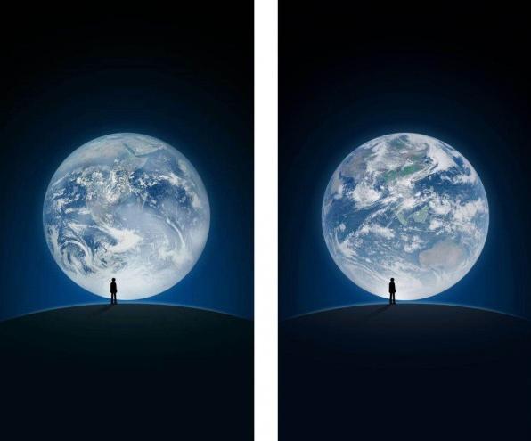 6年来首变!微信地球启动页换新图:中国风云四号卫星拍摄