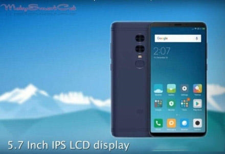 红米5 Plus曝光:千元全面屏手机来了!