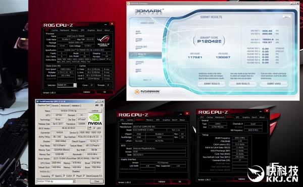 Intel 18核心i9-7980XE开盖暴超6.1GHz:功耗1000W