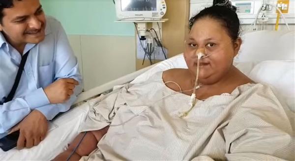 体重1000斤!世界最胖女子去世:床上躺了25年