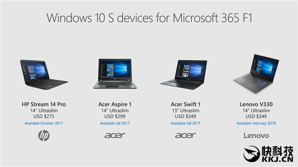 微软发布企业版Windows 10 S:基层员工专心干活