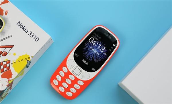 情怀满满!诺基亚3310 3G复刻版全球发布 540元