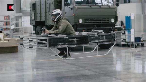 AK47制造商再造新工具:可以飞的摩托车