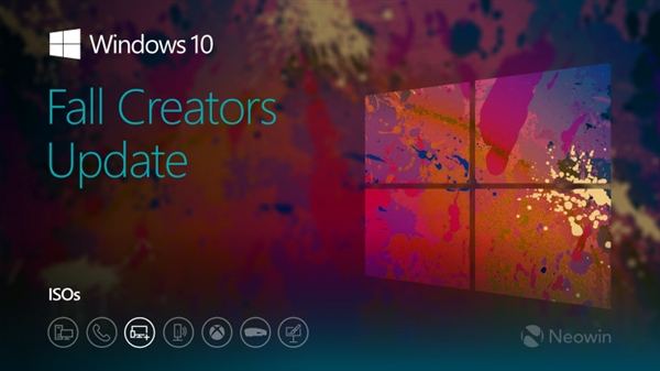 下载:Windows 10秋季创意更新Build 16296 ISO镜像