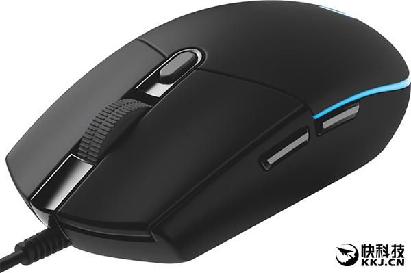 罗技G203 Prodigy游戏鼠标固件升级:精度升级8000DPI