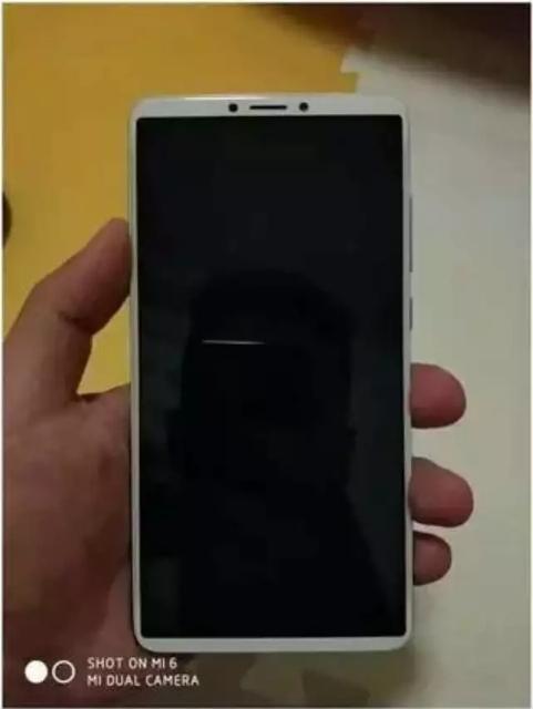 999元起如何?红米Note 5真机偷跑:18:9全面屏