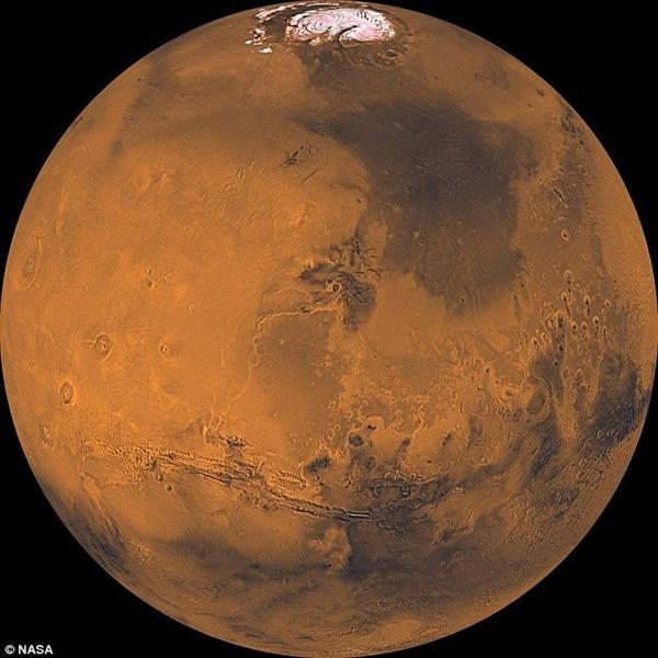 NASA修改火星航天员DNA:不怕任何辐射