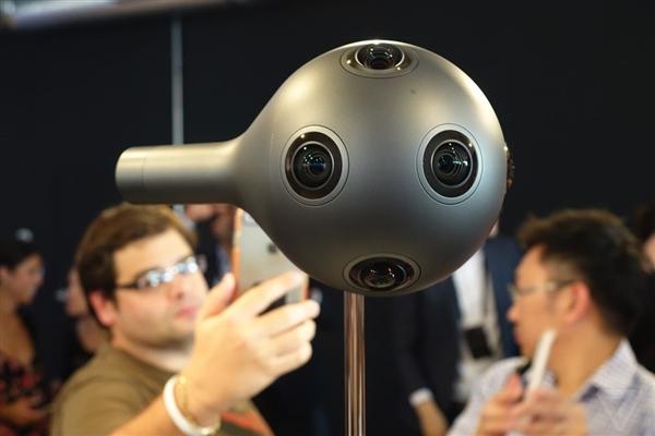 诺基亚宣布放弃VR相机OZO:售价30万元