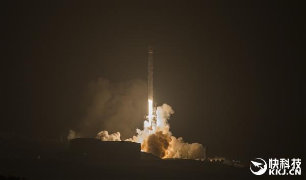SpaceX猎鹰9号火箭发射10颗铱卫星:成功海上回收