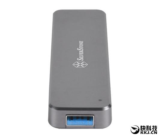 银欣新配件:M.2 SSD秒变USB 3.1 U盘