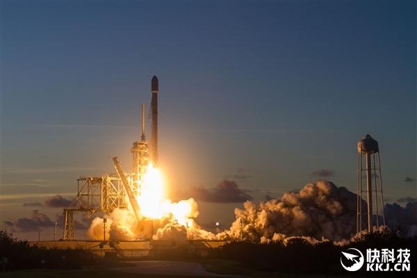 SpaceX第三次重复使用猎鹰9号火箭:三日两连发