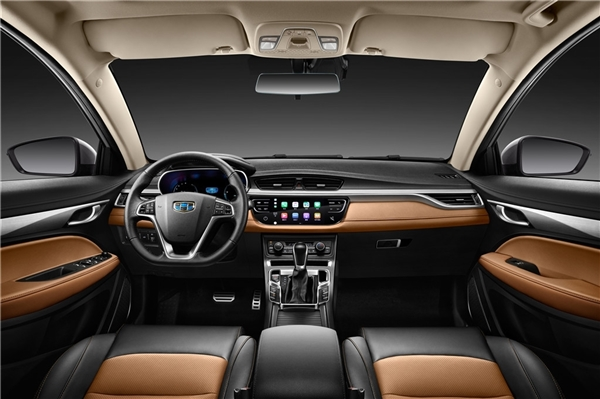 吉利第二款跨界SUV配置/动力公布:全新发动机