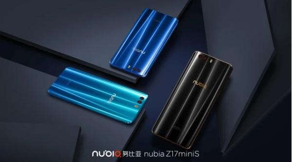 努比亚Z17miniS发布:配四摄 3D曲面玻璃颜值赞