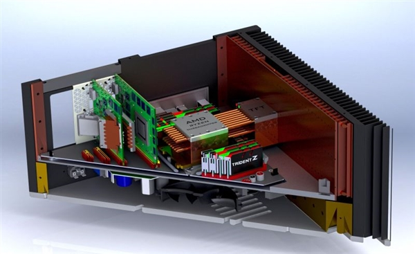 大神打造0噪音纯被动散热主机:AMD撕裂者+双独显