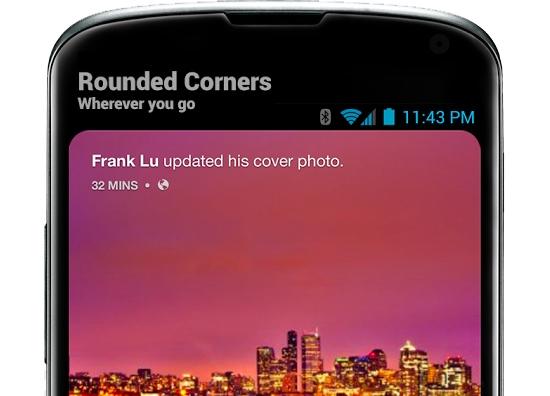 免费神软Roundr:让你的手机屏秒变三星S8式四周圆角