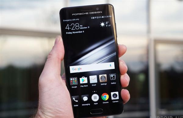 9保时捷设计(porsche design)限量版,高达8999元的售价也创下华为手机