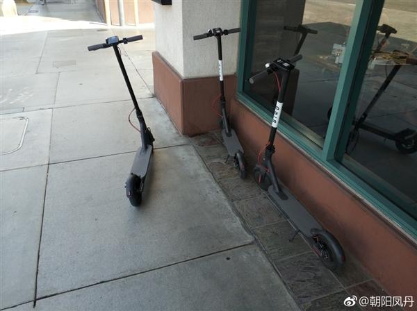 比国内会玩:共享小米电动滑板车亮相美国街头
