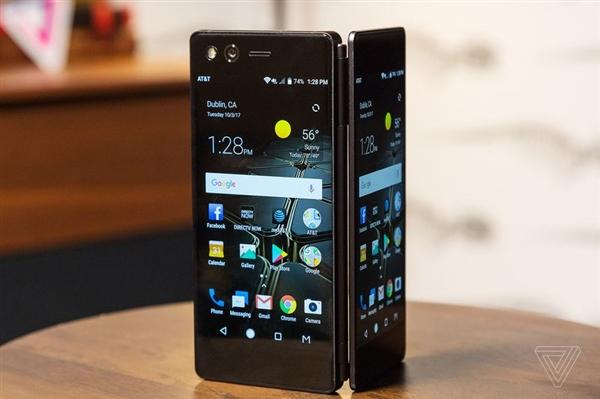 中兴双屏折叠手机AXON M真机图赏:PC级体验