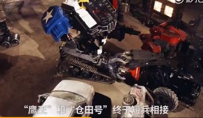 """美日最强机器人对决结果出炉!日本""""高达""""差点成废铁"""