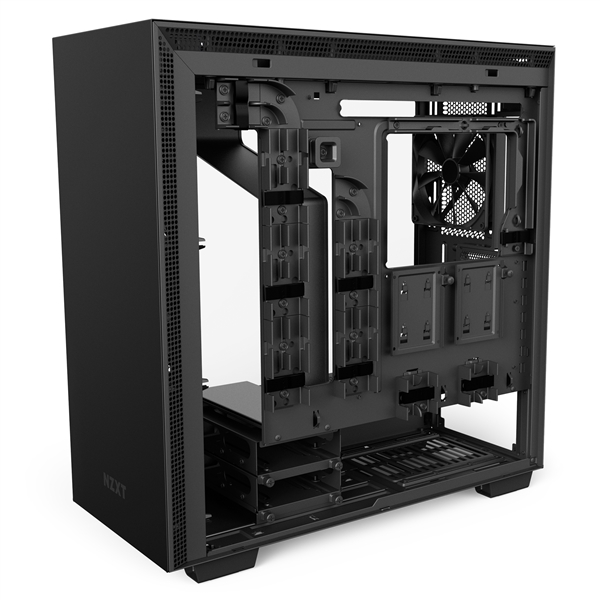 NZXT发布全新H系列机箱:RGB信仰灯、风扇变聪明了