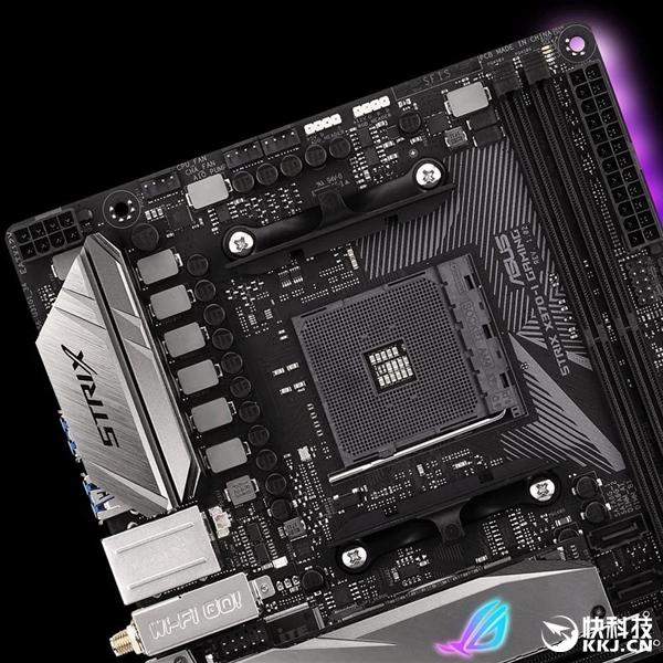 Ryzen最强小钢炮!华硕发布X370/B350 ITX迷你主板:独创扩展卡