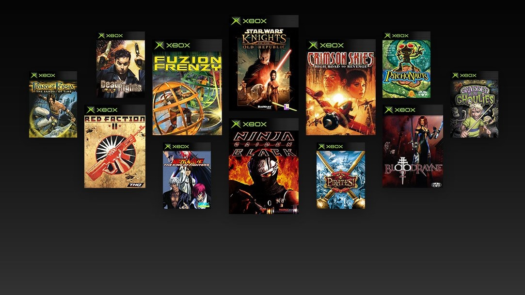 一代Xbox游戏兼容目录曝光:《忍龙》《波斯王子》在列