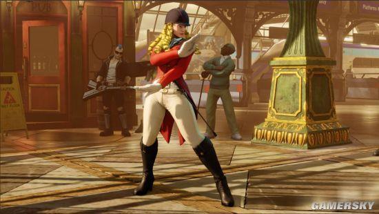 《街头霸王5》三款新服装公布 科琳冬天穿连衣短裙