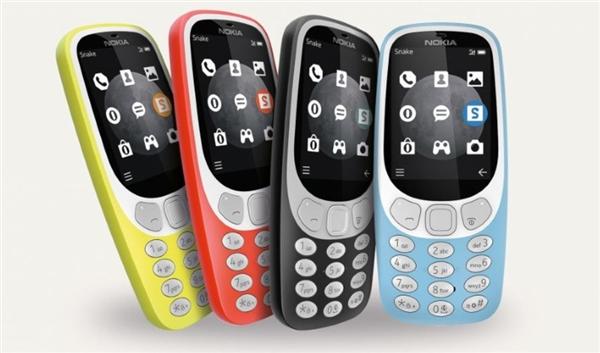 诺基亚3310升级版来了:加量不加价