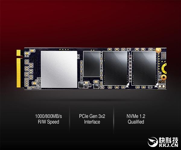 威刚发布XPG SX6000 SSD:带宽仅PCI-E 3.0 x2、TLC闪存