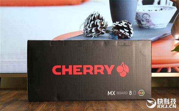 Cherry MX 8.0黑色版开箱图赏:全金属悬浮设计
