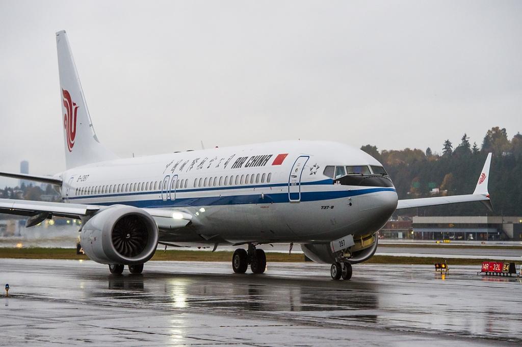 中国首架波音737 max交付 乘坐更舒适