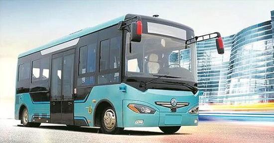 中国全球首创无人驾驶电动公交:一次能跑150公里