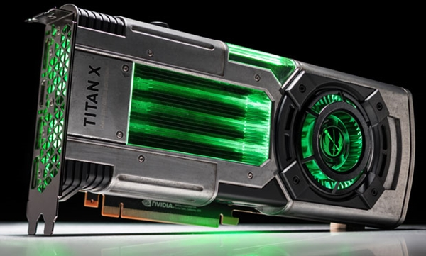 NVIDIA发布TITAN X星战典藏版:红绿双色LED帅爆