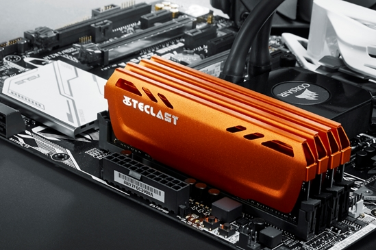 台电极光A30内存正式发布:DDR4-2400带散热装甲