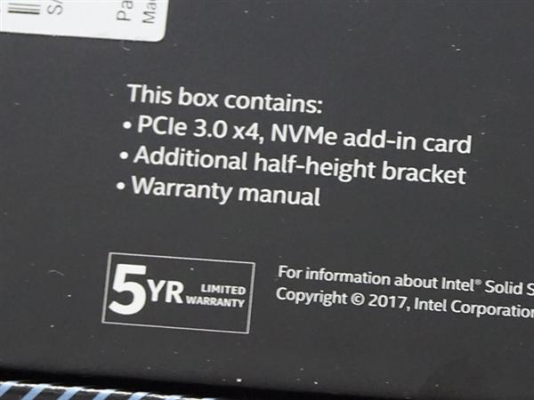480GB卖4440元!Intel黑科技傲腾SSD 900P上市