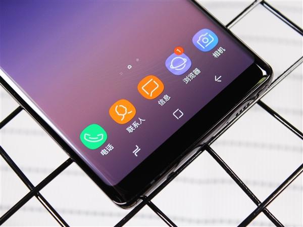 三星Galaxy Note 8图赏:全视曲面屏颜值高