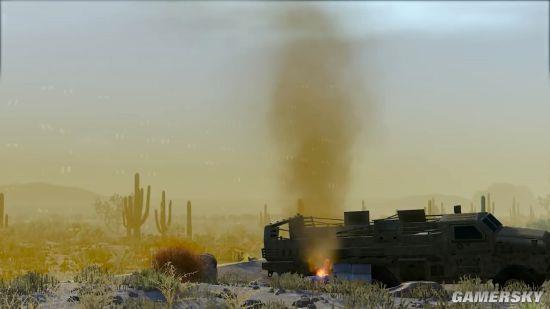 《战争前线》将加入大逃杀模式 沙漠地图16人对战