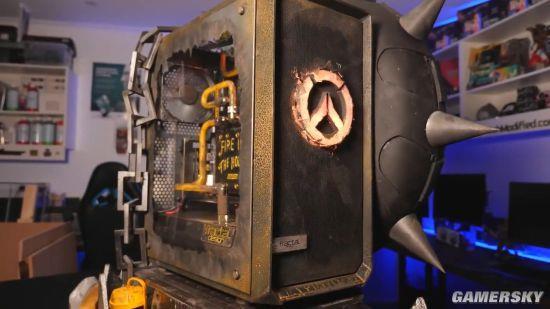 玩家自制《守望先锋》狂鼠主题机箱 细节精致获大奖