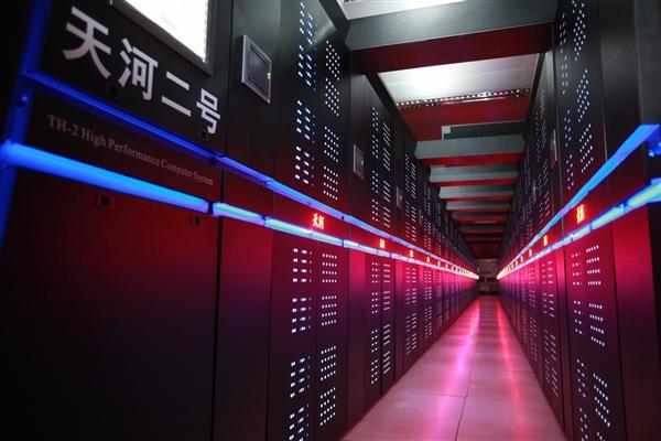 超级计算机500强:中国性能、数量双杀美国