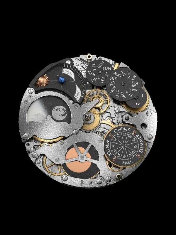 665万全球限量一块:最复杂的机械手表亮相