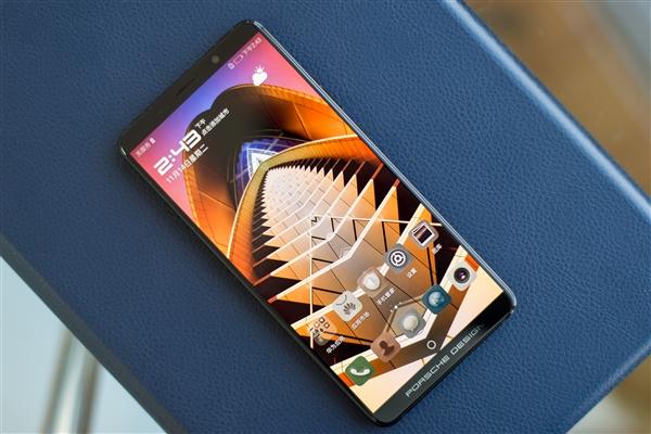 华为Mate 10保时捷版真机抢先看:8999元战iPX