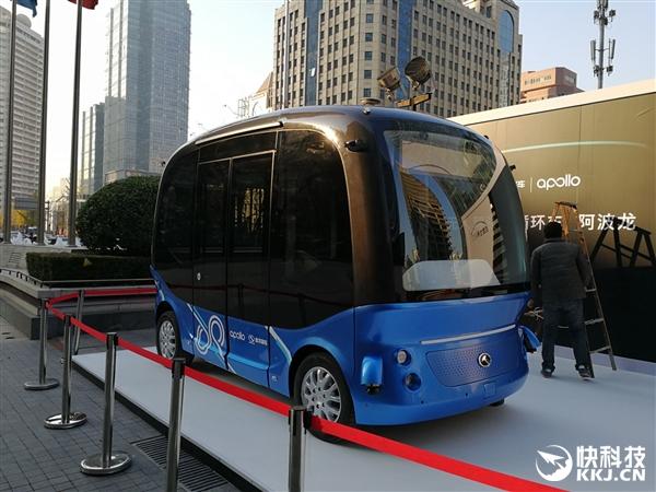 李彦宏坐无人车上五环吃罚单 百度无人车2018年量产