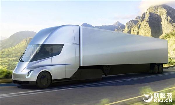 比擎天柱还帅!特斯拉首款电动卡车发布:续航/充电炸裂