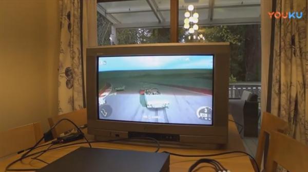 Xbox One X在老式CRT彩电上玩游戏:画面太美