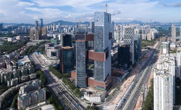 腾讯新办公楼滨海大厦正式启用:内景曝光:简直是渡假
