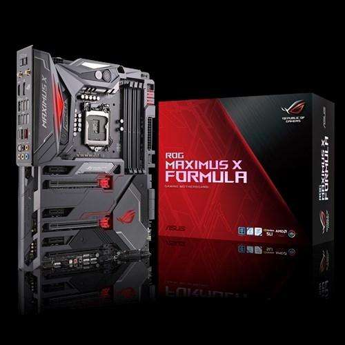 华硕发布Maximus X Forumula玩家国度主板:发烧水冷专用