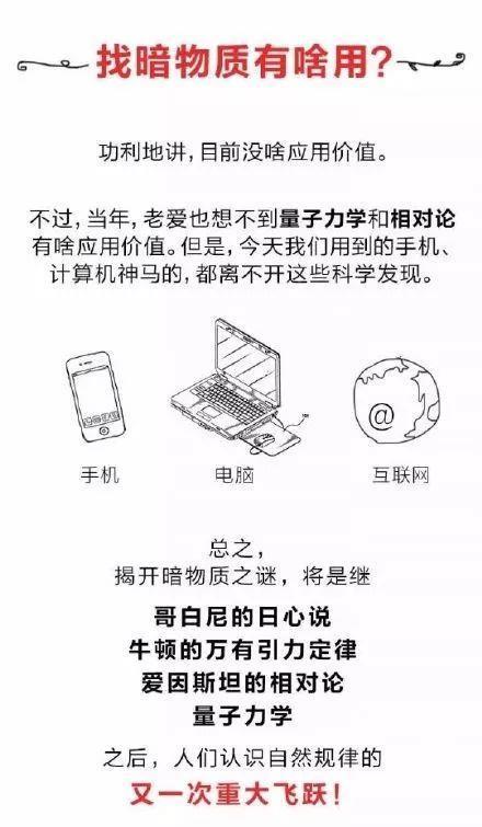 中国可能发现了暗物质!改写物理课本