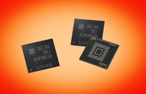 手机存储卡再见!三星宣布量产512GB UFS闪存:860MB/s