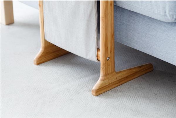 有品上架多功能沙发伴侣:天然竹制不占空间