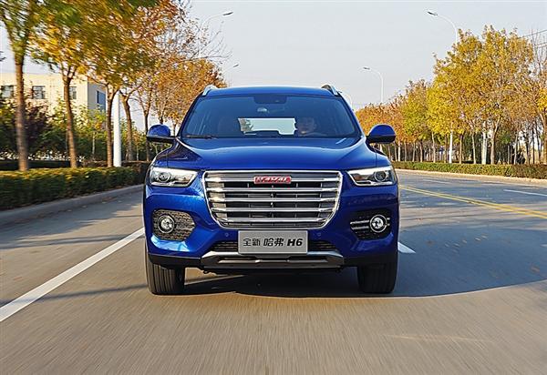国产第一SUV大爆发!VV7/VV5双双破万 哈弗H6月销超5万辆